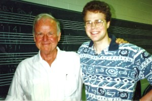Johnny Gimble and David Wallace; Waco, TX, July, 1996
